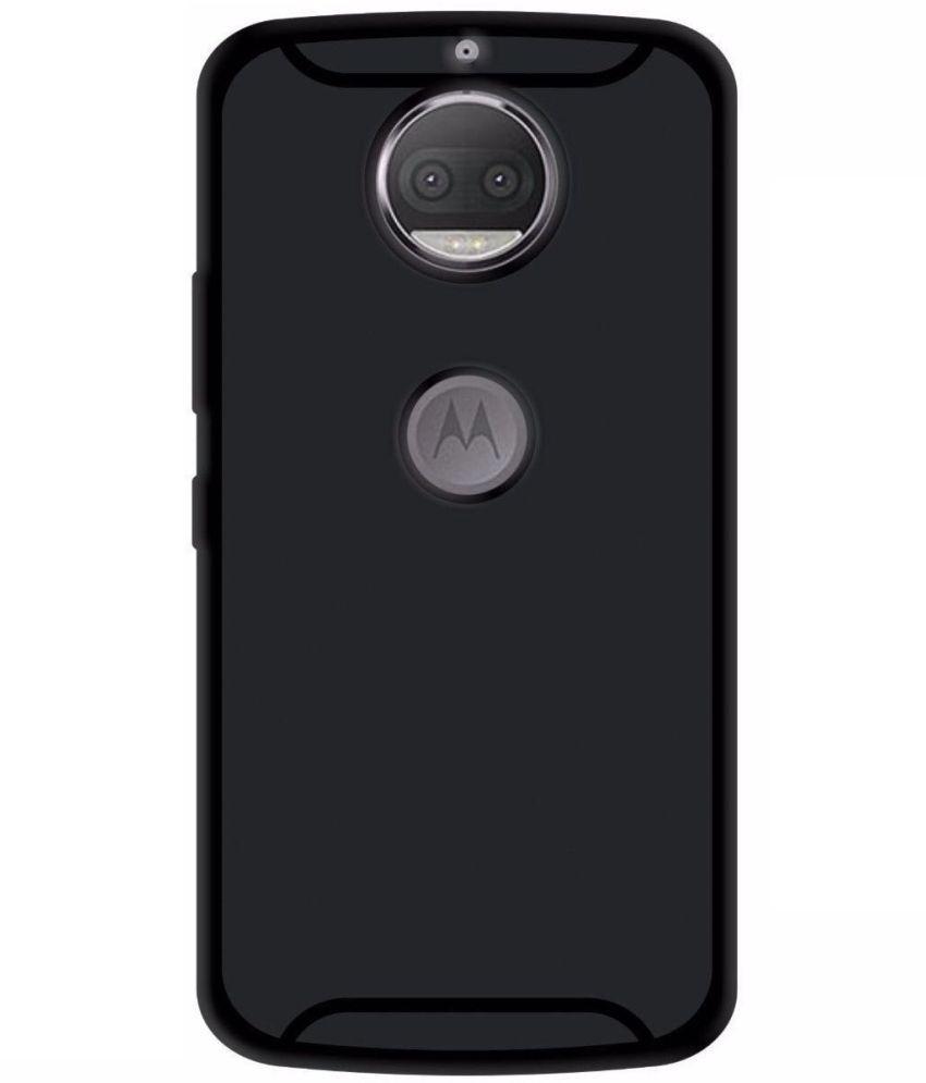 pretty nice 673a4 0595d Motorola Moto G5S Plus Plain Cases Tidel - Black