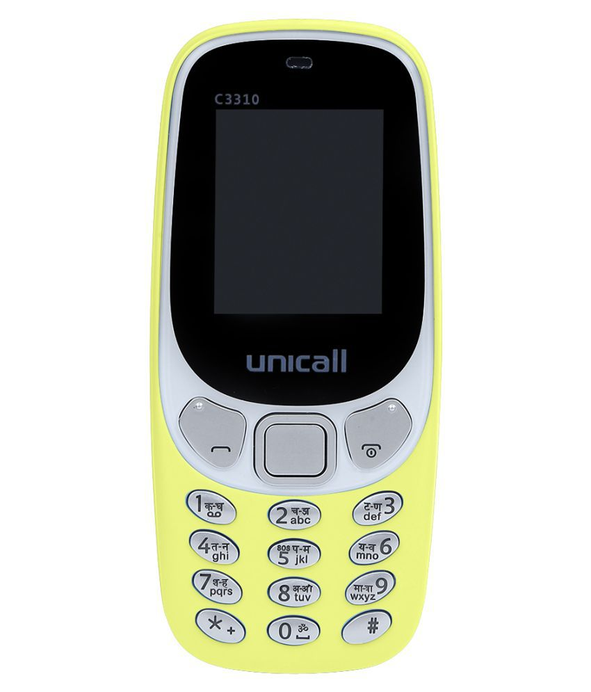 5ee7a9e39de unicall C3310 32 MB - Feature Phone Online at Low Prices