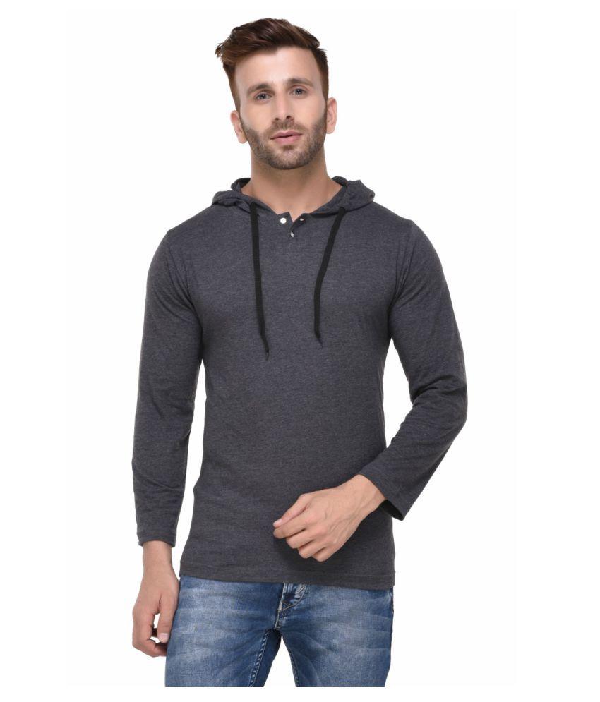 Rigo Grey Hooded T-Shirt