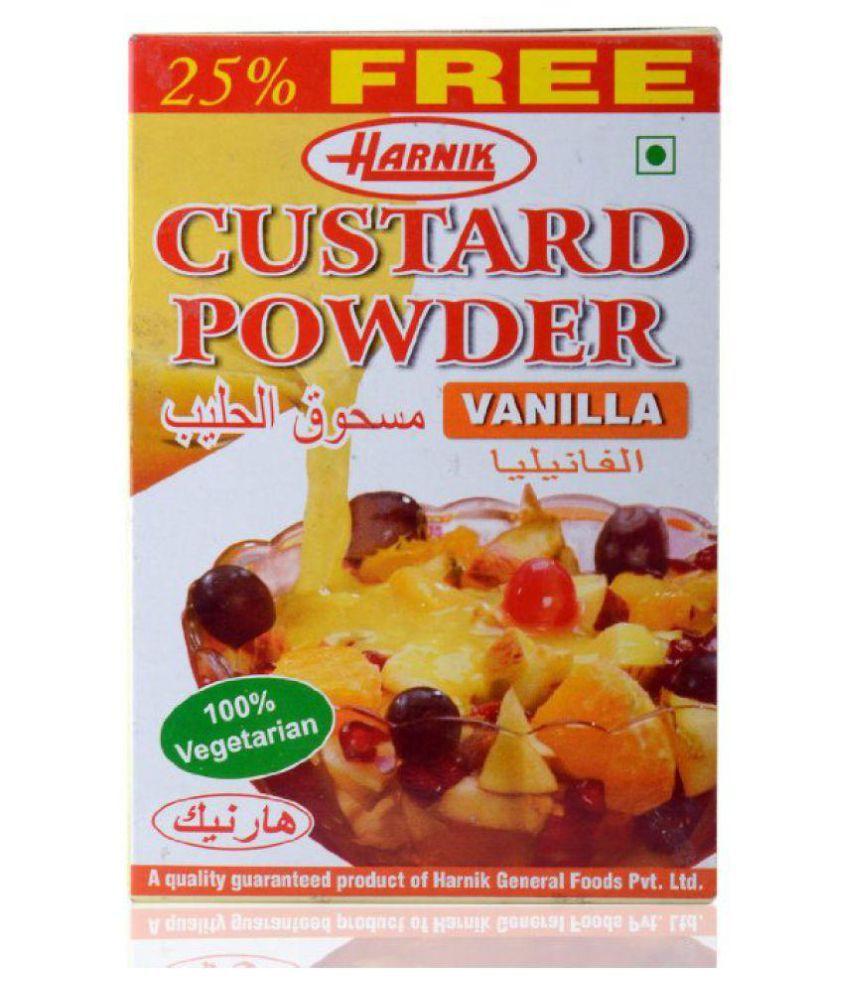 HARNIK CUSTARD POWDER Instant Mix 125 gm Pack of 5: Buy HARNIK