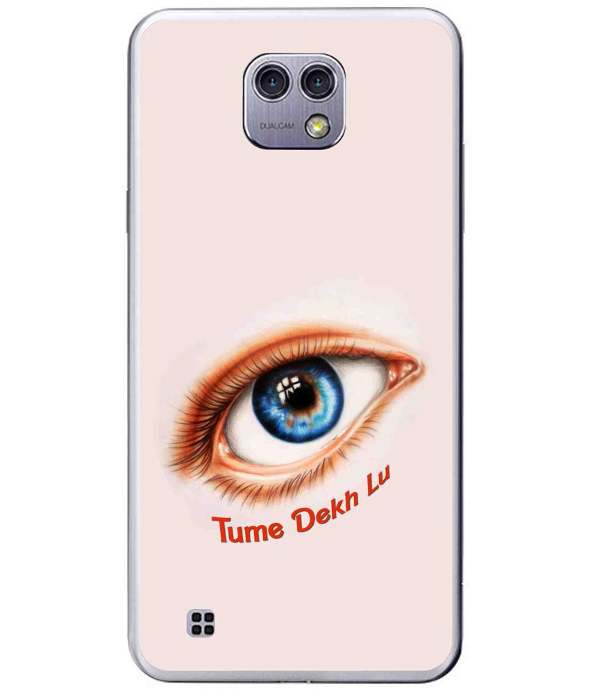 LG X cam Printed Cover By Snooky