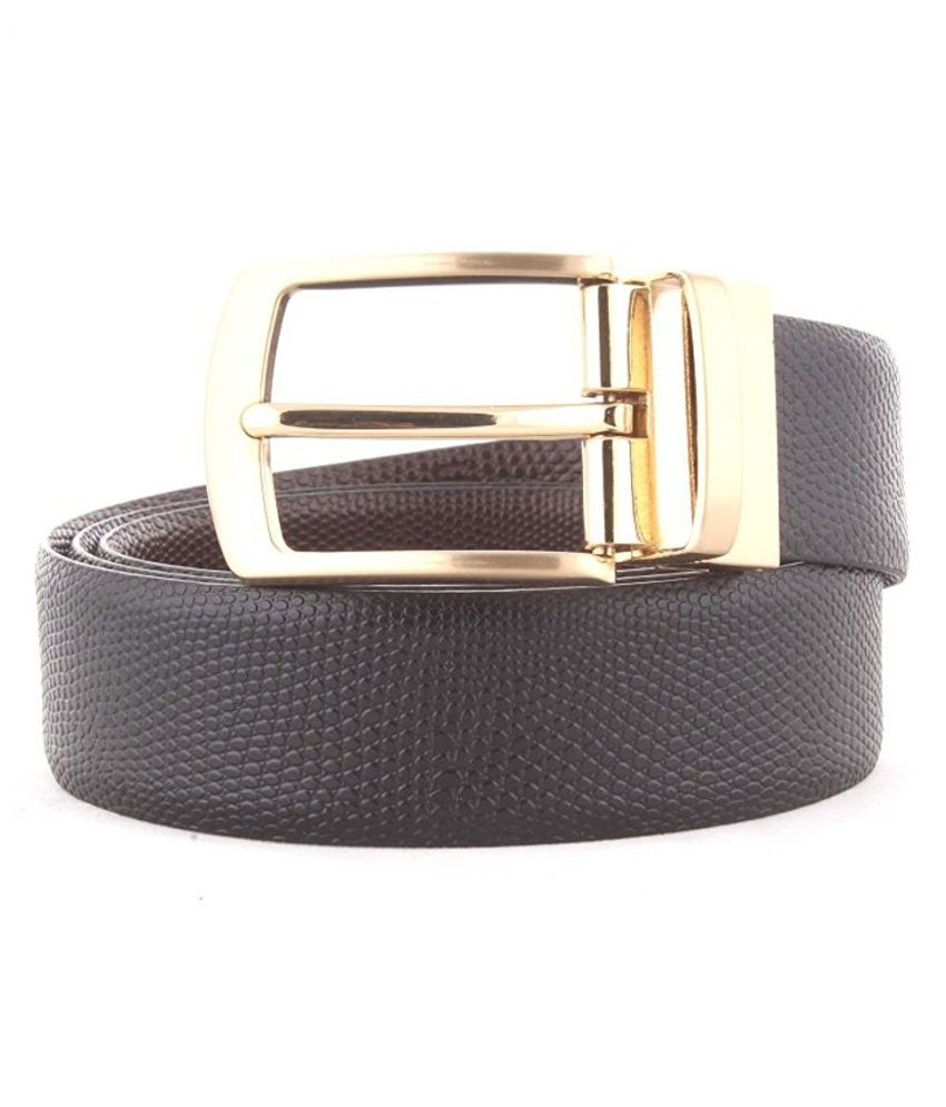 Aarmish Brown Leather Casual Belts