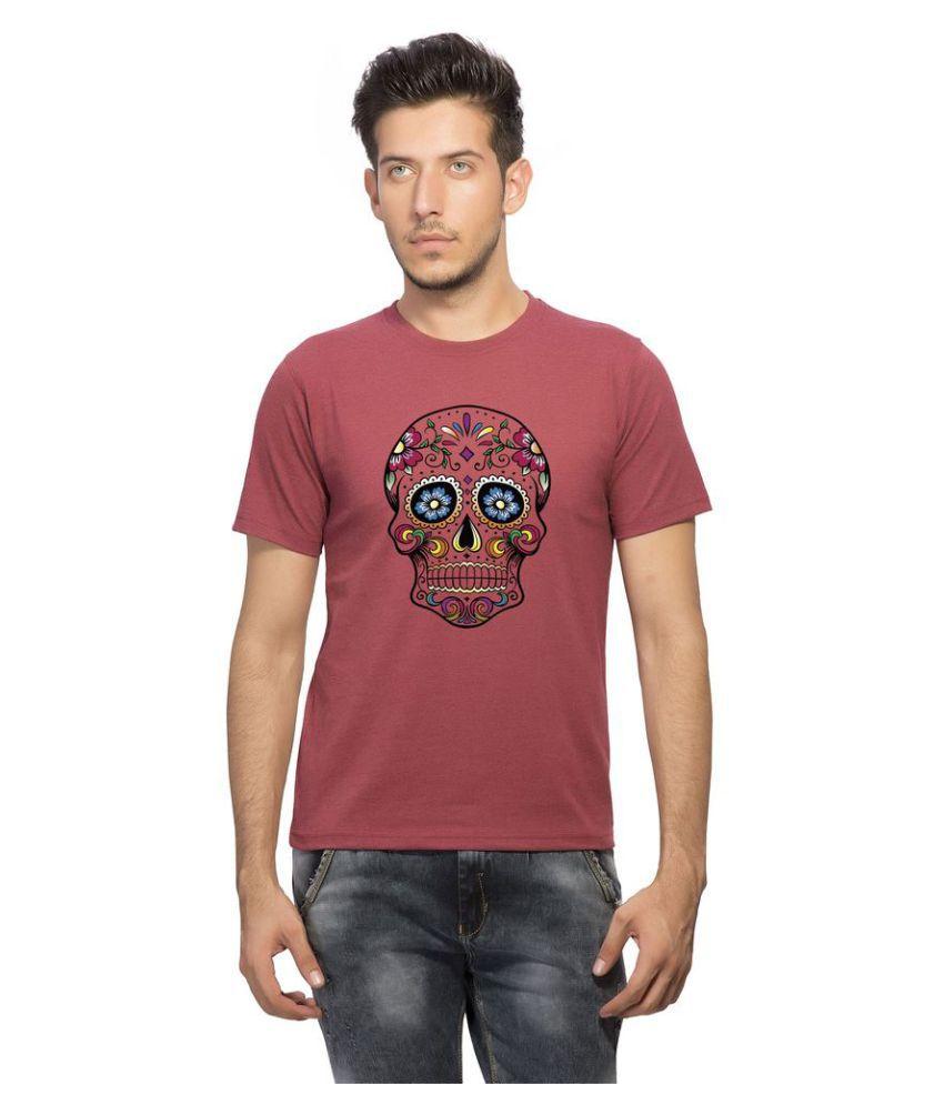 clifton Maroon Round T-Shirt