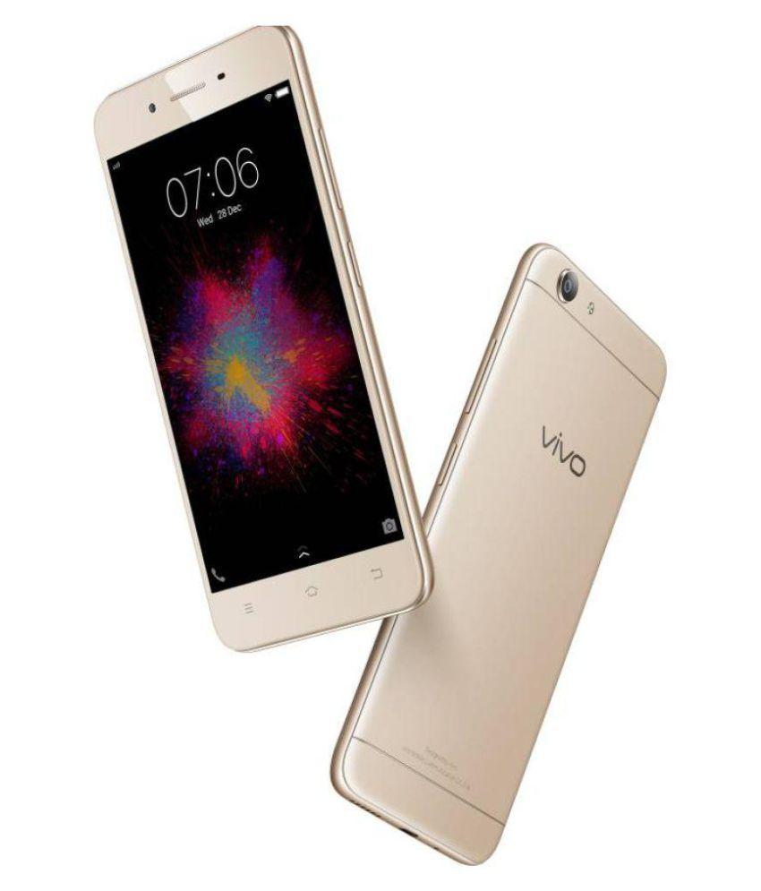 Vivo 1606 ( 16GB , 2 GB ) Crown Gold Mobile Phones Online at Low
