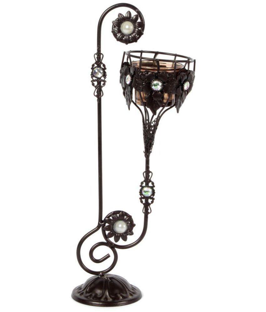 jewel fuel Table Top Iron Tea Light Holder - Pack of 1