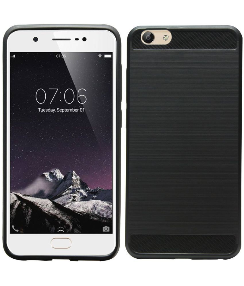 pretty nice ee5cc 9ceab Vivo Y69 Hybrid Covers Galaxy Plus - Black
