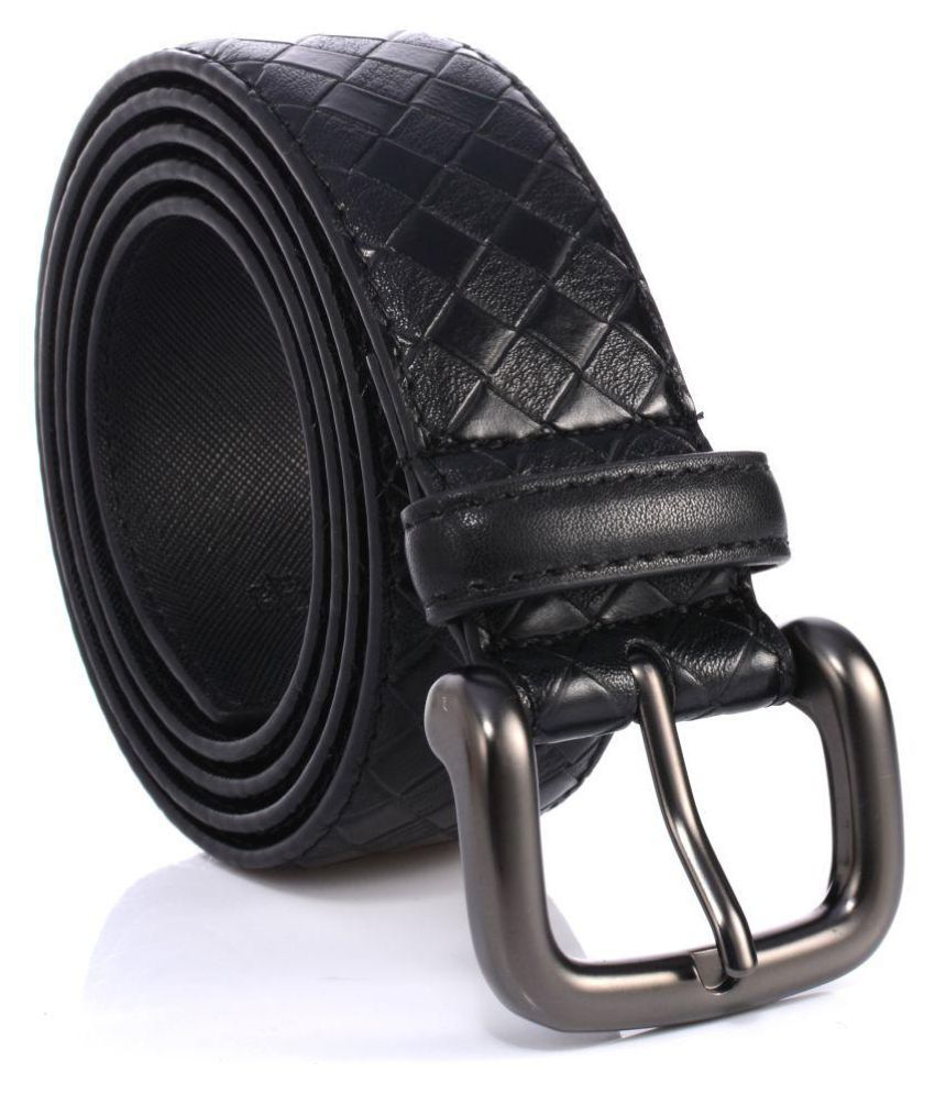 Abrazo Blue Faux Leather Casual Belts