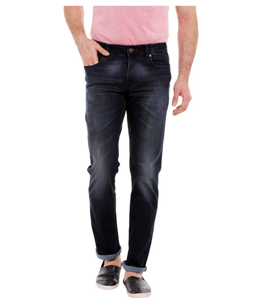 Numero Uno Blue Straight Jeans