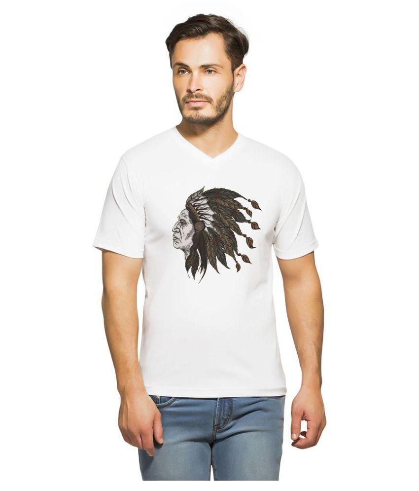 clifton White V-Neck T-Shirt