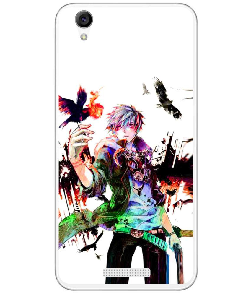 Lava Iris Atom 3 Printed Cover By Snooky