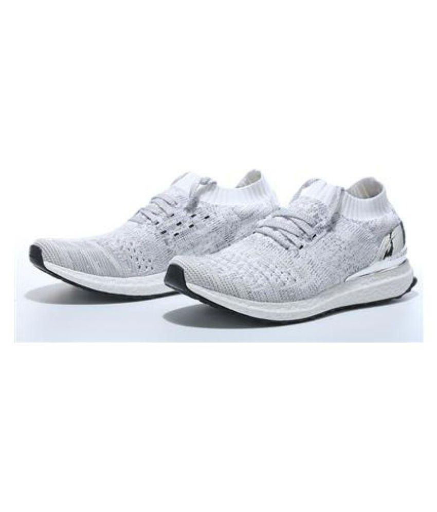 low priced 45850 a7d08 Adidas ULTRA BOOST UNCAGED METALLIC SILVER Lifestyle White ...