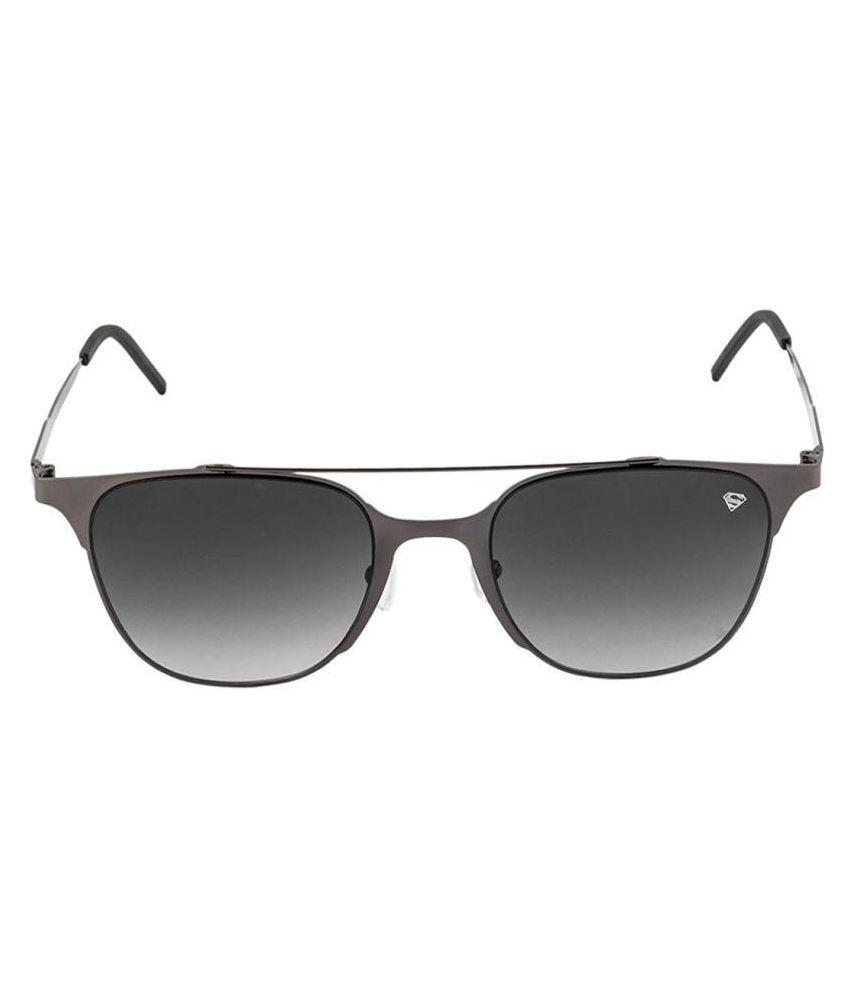 Superman Grey Square Sunglasses ( SM-580-C4 )