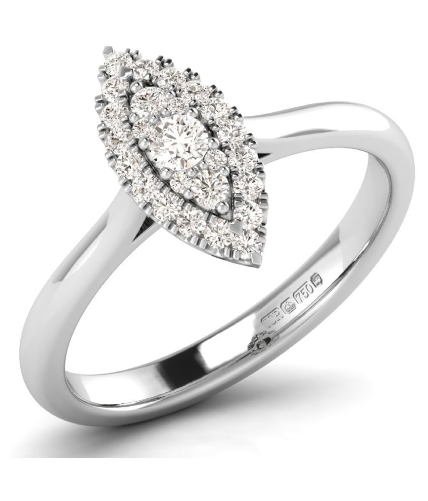 Micreation 92.5 Silver Cubic zirconia Ring