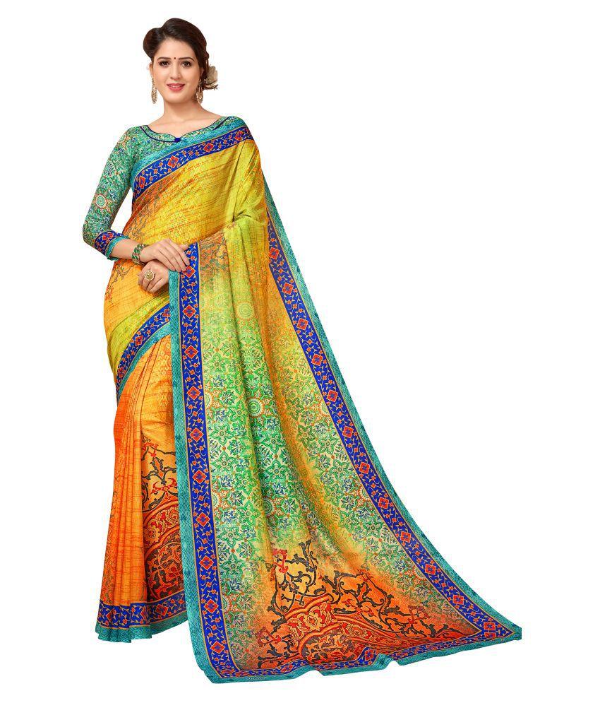 Vimla Multicoloured Mysore Silk Saree