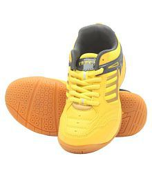 TEPCY Boys & Girls Lace Badminton Shoes
