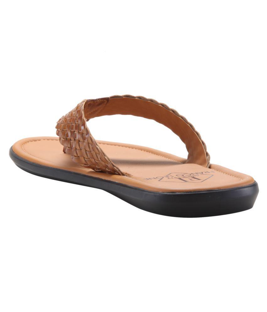 dd10f8bd19a4 Franco Leone 162311 Tan Daily Slippers Franco Leone 162311 Tan Daily  Slippers ...