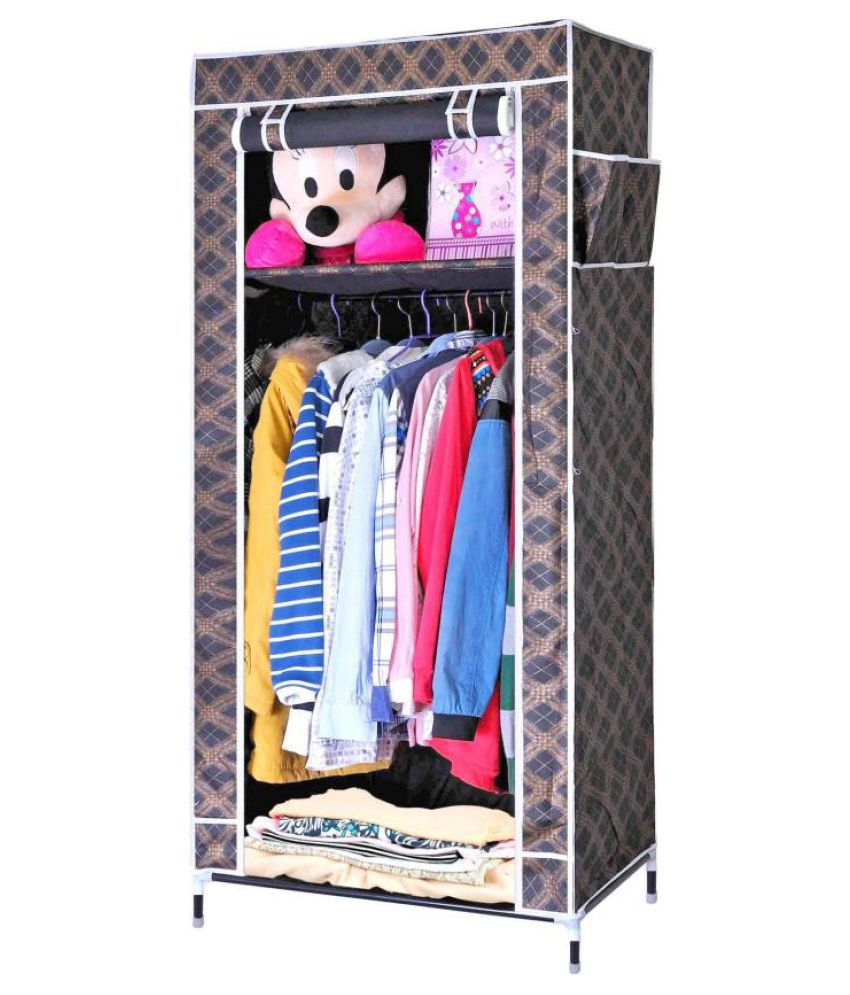 Folding Storage Rack Collapsible Cabinet Almirah Collapsible ...