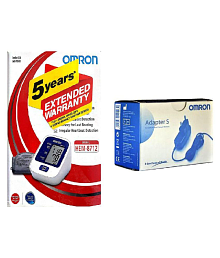 Omron 8712 BP Monitor with Adapter