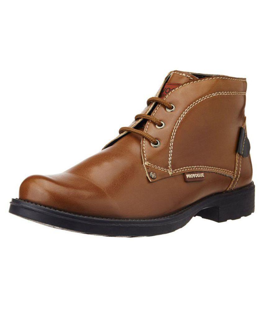 Provogue Tan Casual Boot