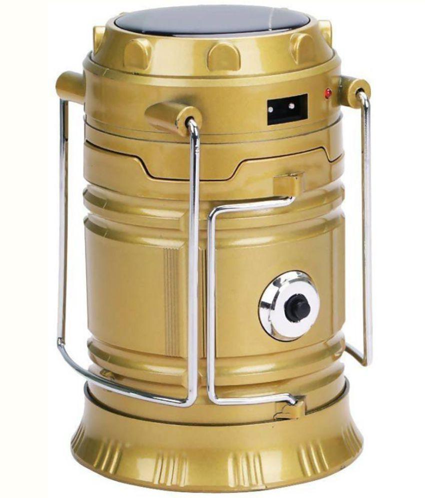 Aladdin Shoppers 1W Solar Light Golden - Pack of 1