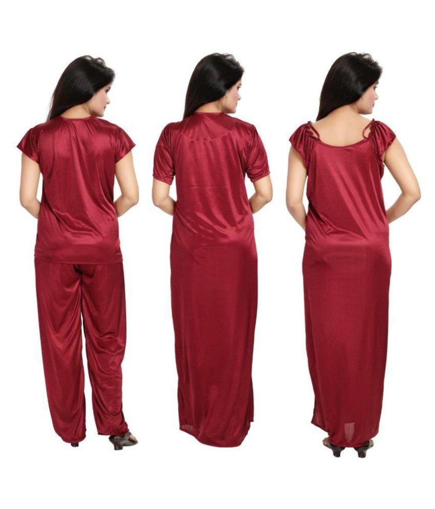 197710949e Buy DILJEET Satin Nightsuit Sets Online at Best Prices in India ...