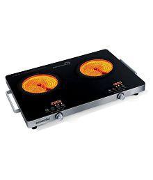 SMITHCUCINA Infracooka Double Burner Above2200 Watt Induction Cooktop