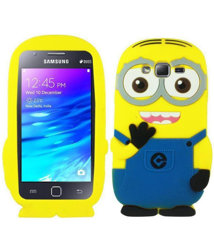 Samsung Galaxy On5 Pro Plain Cases OM - Yellow