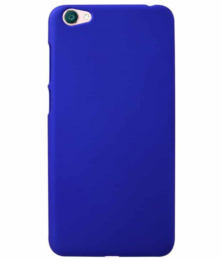 sports shoes 7dd34 e3eb5 Vivo Y55 Plain Cases Coverage - Blue
