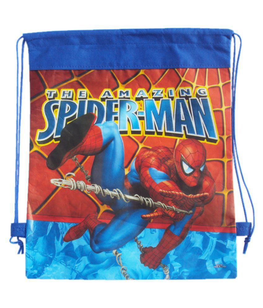 Asera 12 Pcs Spiderman Dori Bags Haversack For Birthday Party Return Gifts Theme
