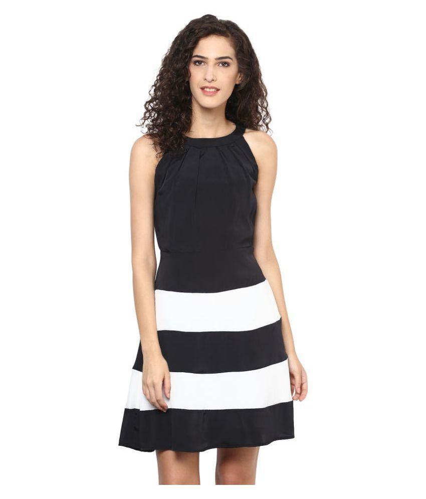 FRENCH FUSION Crepe Dresses