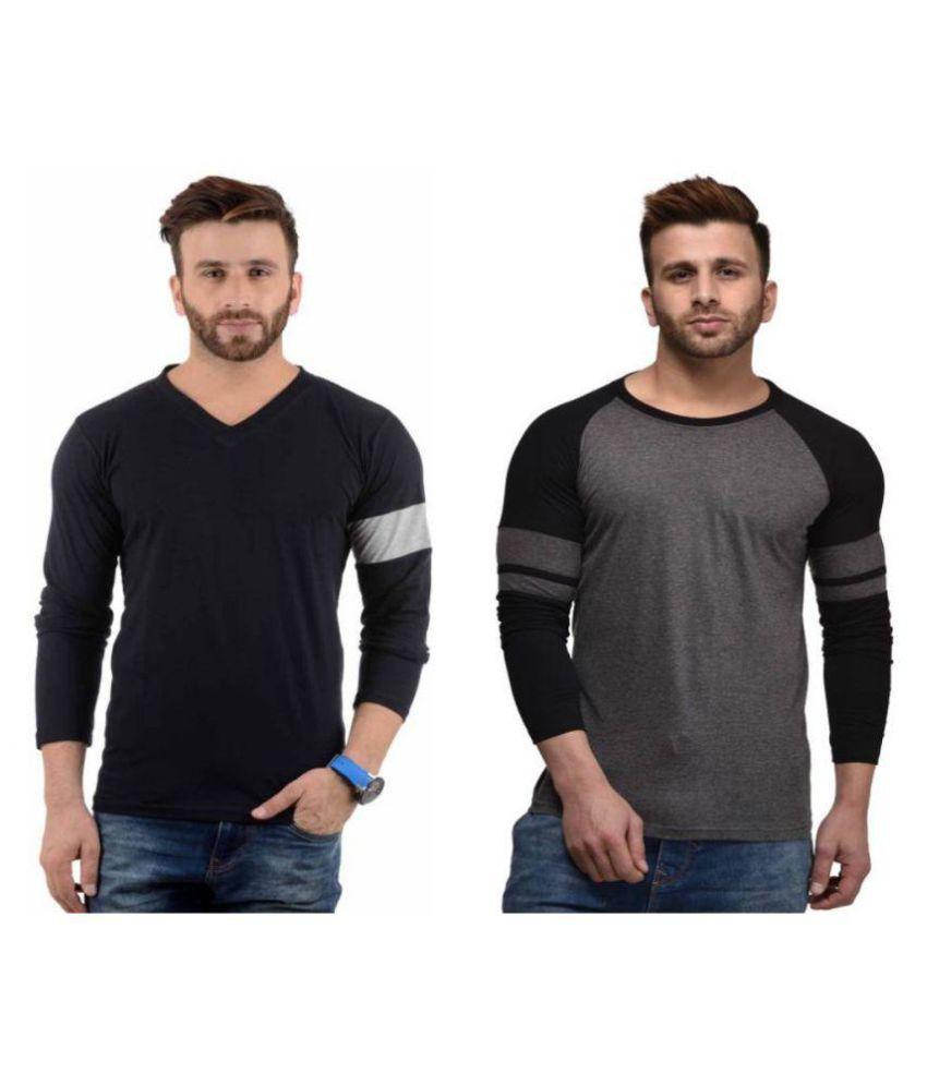 oovs Multi V-Neck T-Shirt