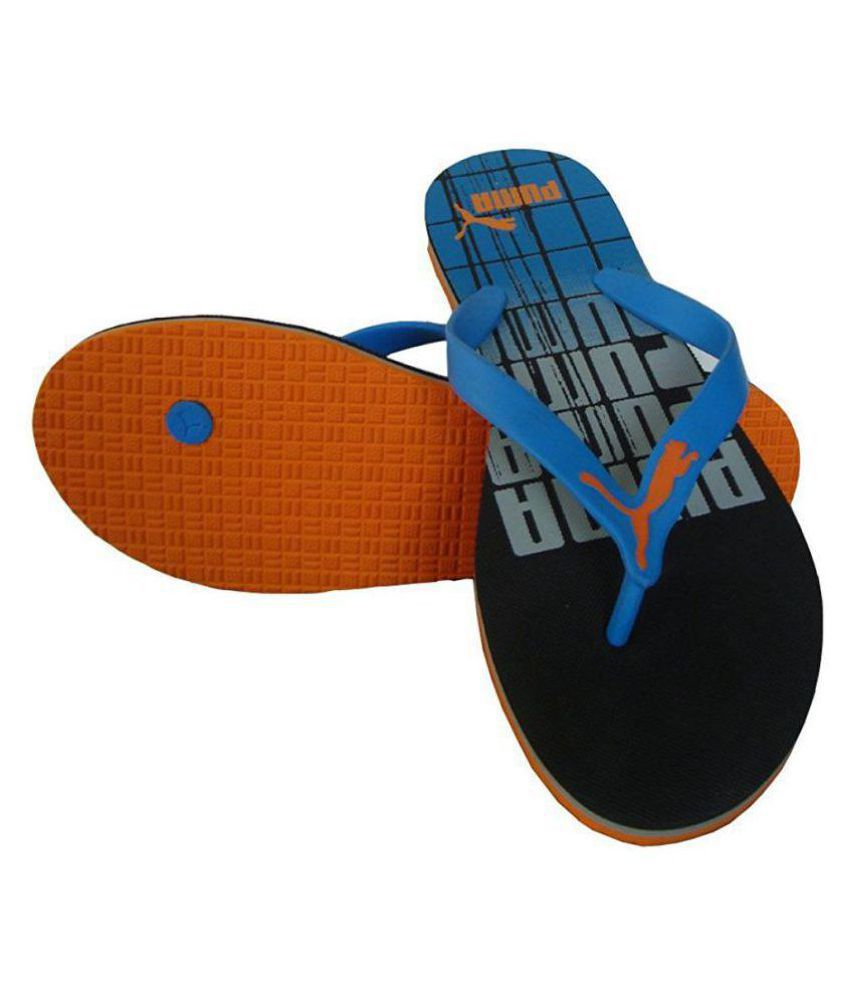 871e5c069 Puma grant DP Blue Thong Flip Flop Price in India- Buy Puma grant DP ...