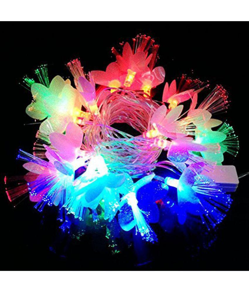 Unique Arts & Interiors. Diwali / Christmas 20-22 Flower LED String Lights-36% OFF