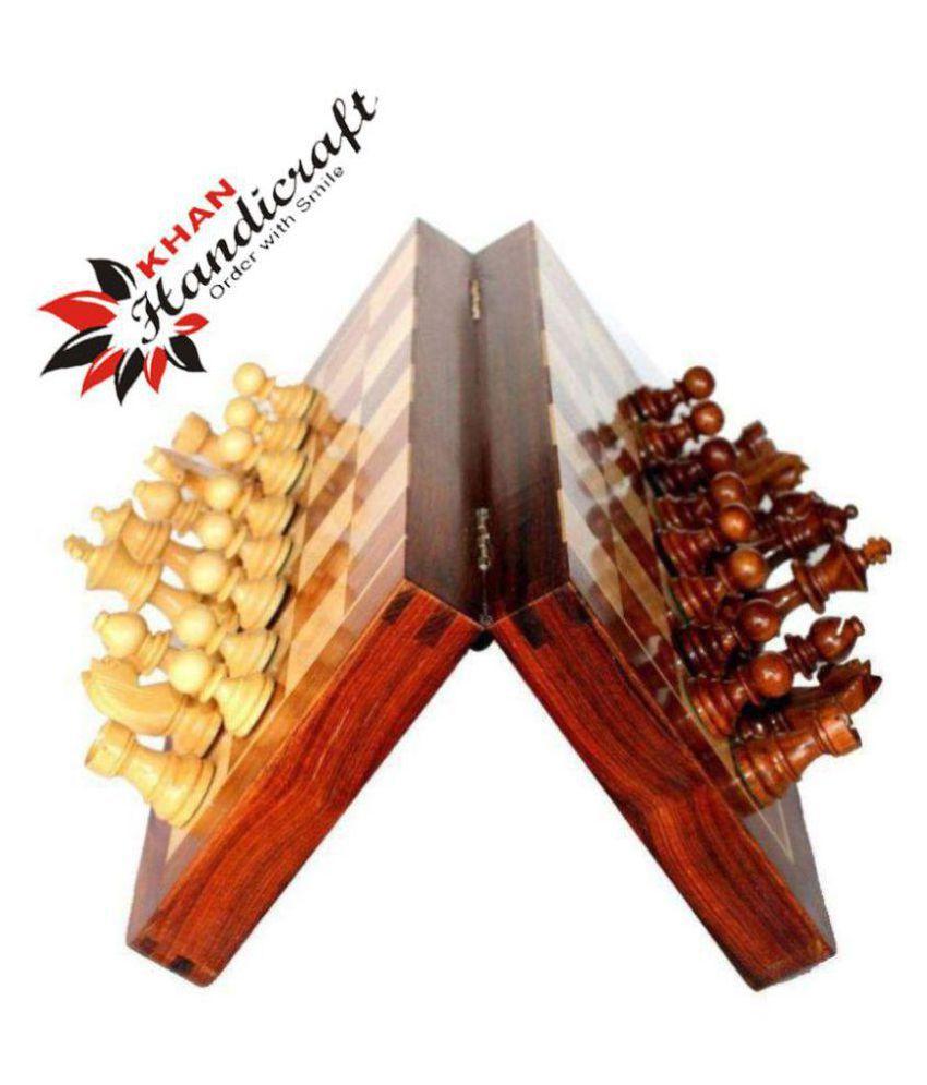 Khan Handicrafts Wooden Others Chess M