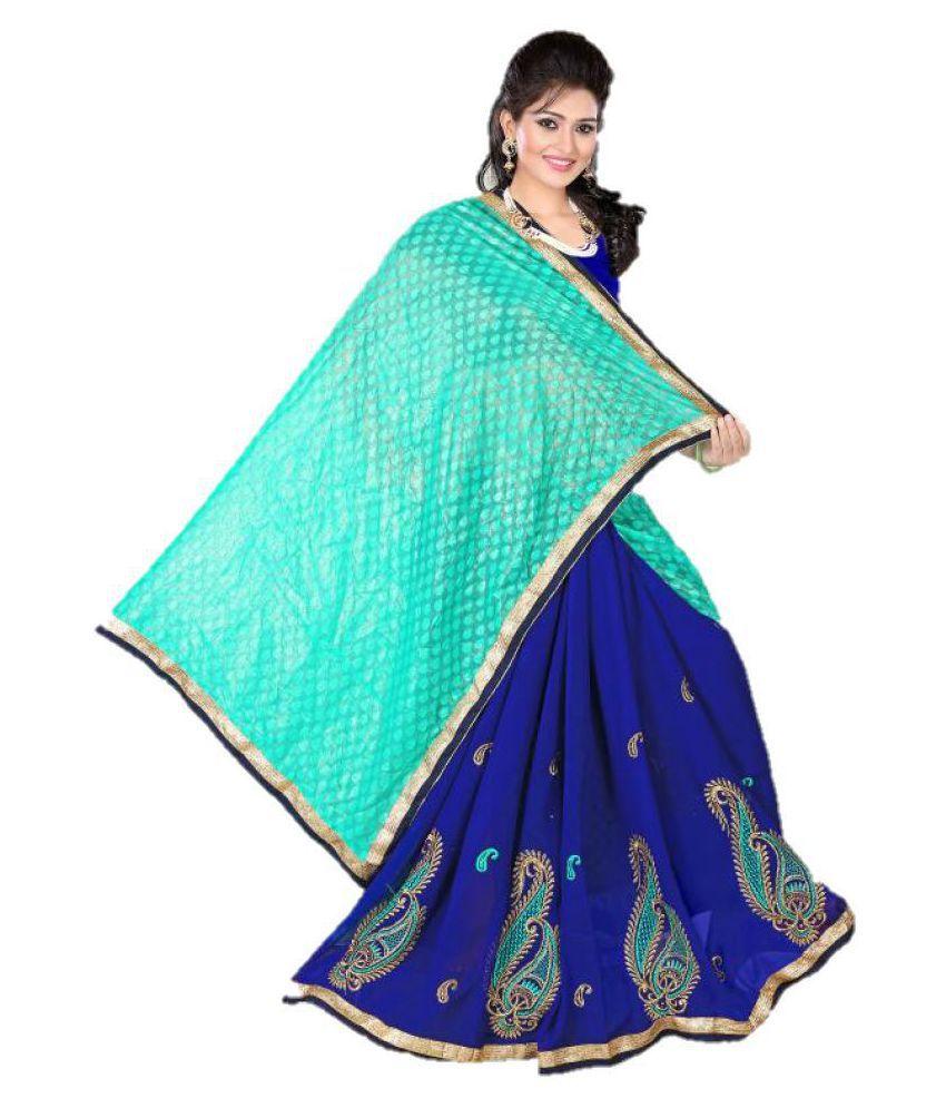 siyalee Multicoloured Art Silk Saree