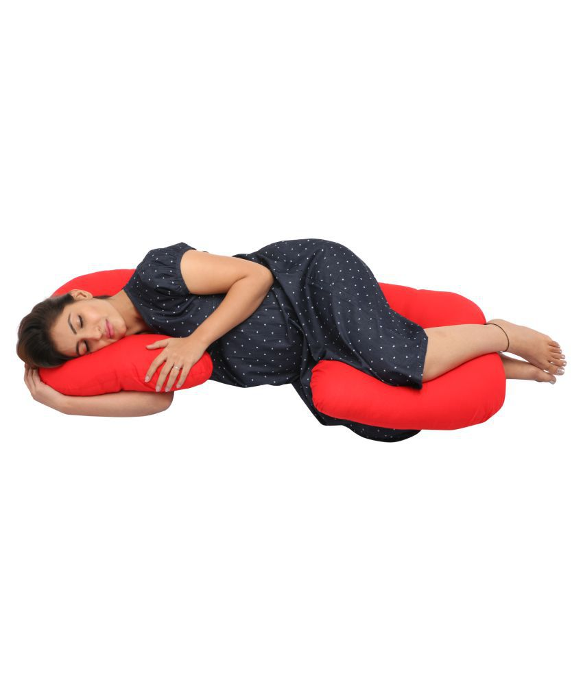 Mammaâ S Maternity Red C Pregnancy Pillow At Best Prices In India Snapdeal
