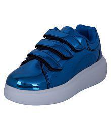 TEPCY Girls Velcro Sneakers B