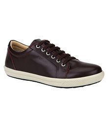 Woodland Purple Casual Shoes