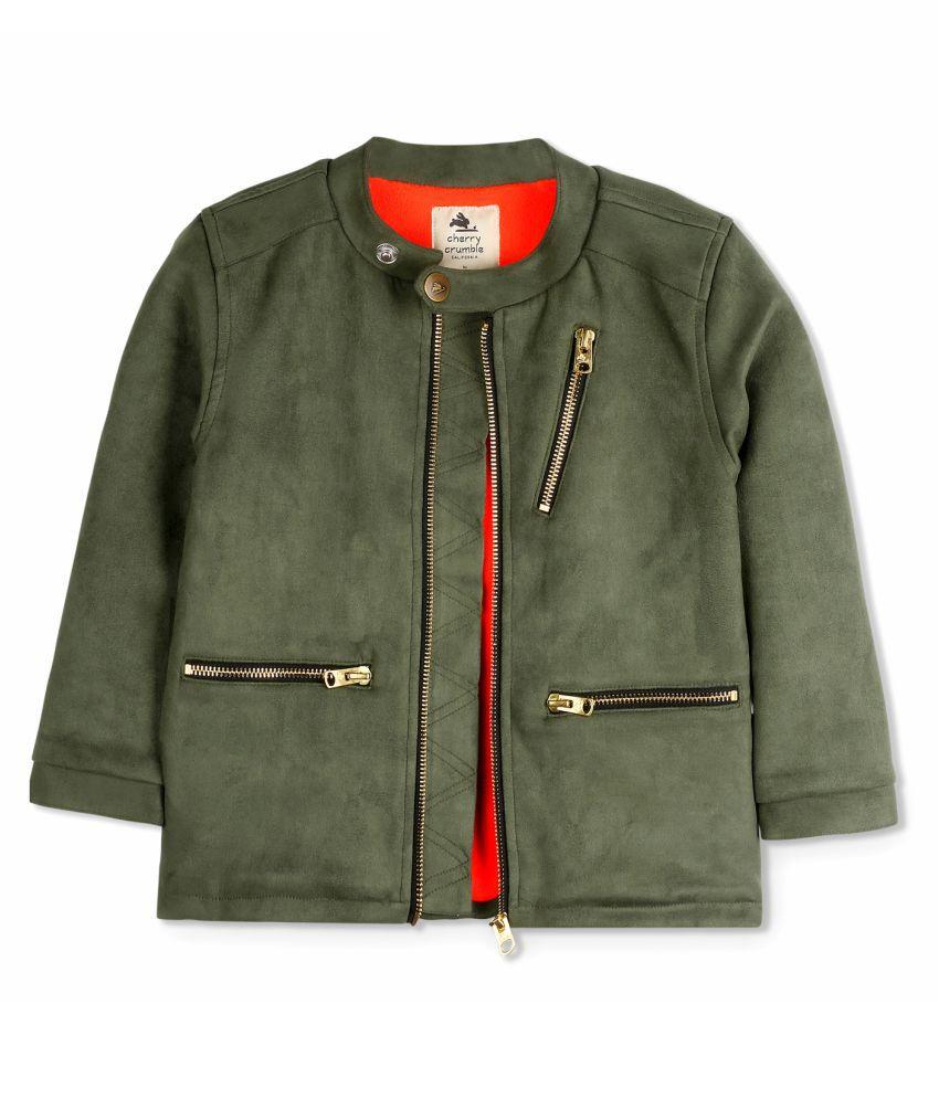 Cherry Crumble Vintage Suede Jacket