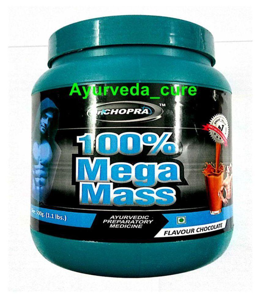Ayurveda Cure Dr Chopra's 100% Mega Mass 500 gm