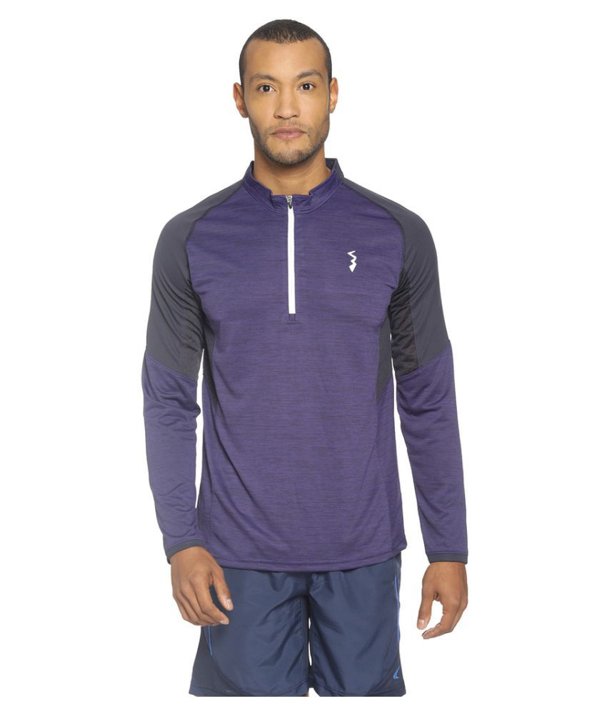 Campus Sutra Purple Polyester Jersey Single Pack