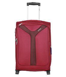 Safari Red S (Below 60cm) Cabin Soft Safari Kayak RED 2W Small Trolley Luggage Bag Luggage