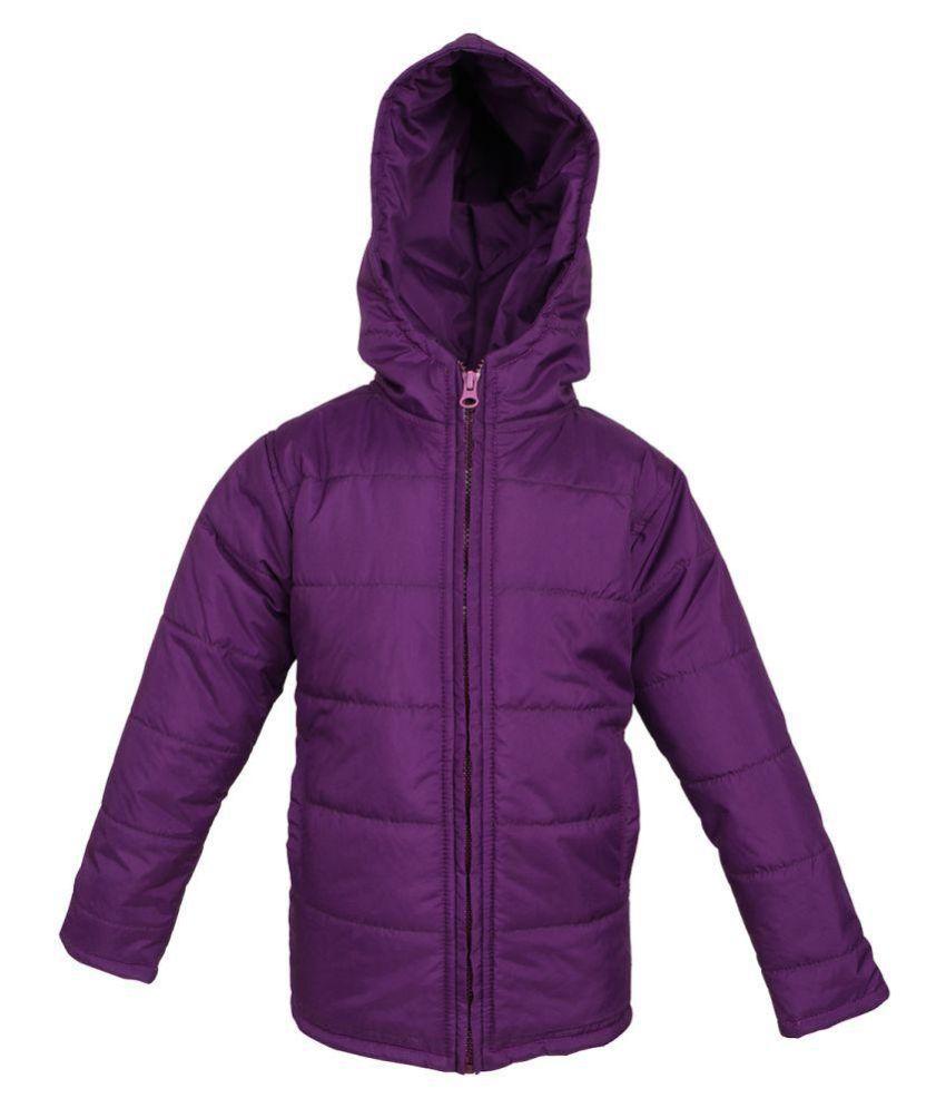 Purple Polyester JACKET