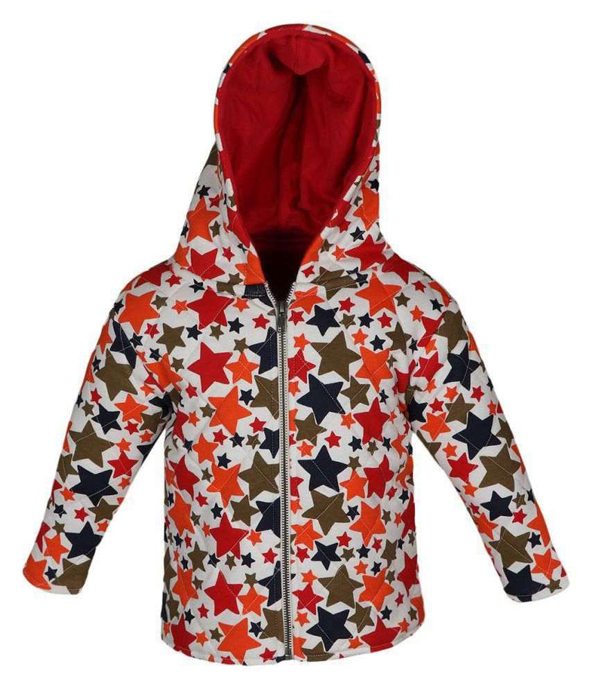 Red, Navy, White, Green Organic Cotton JACKET