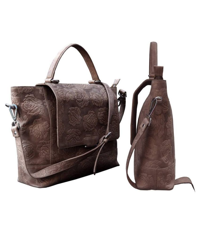 Tamanna Tan Pure Leather Handbags Accessories