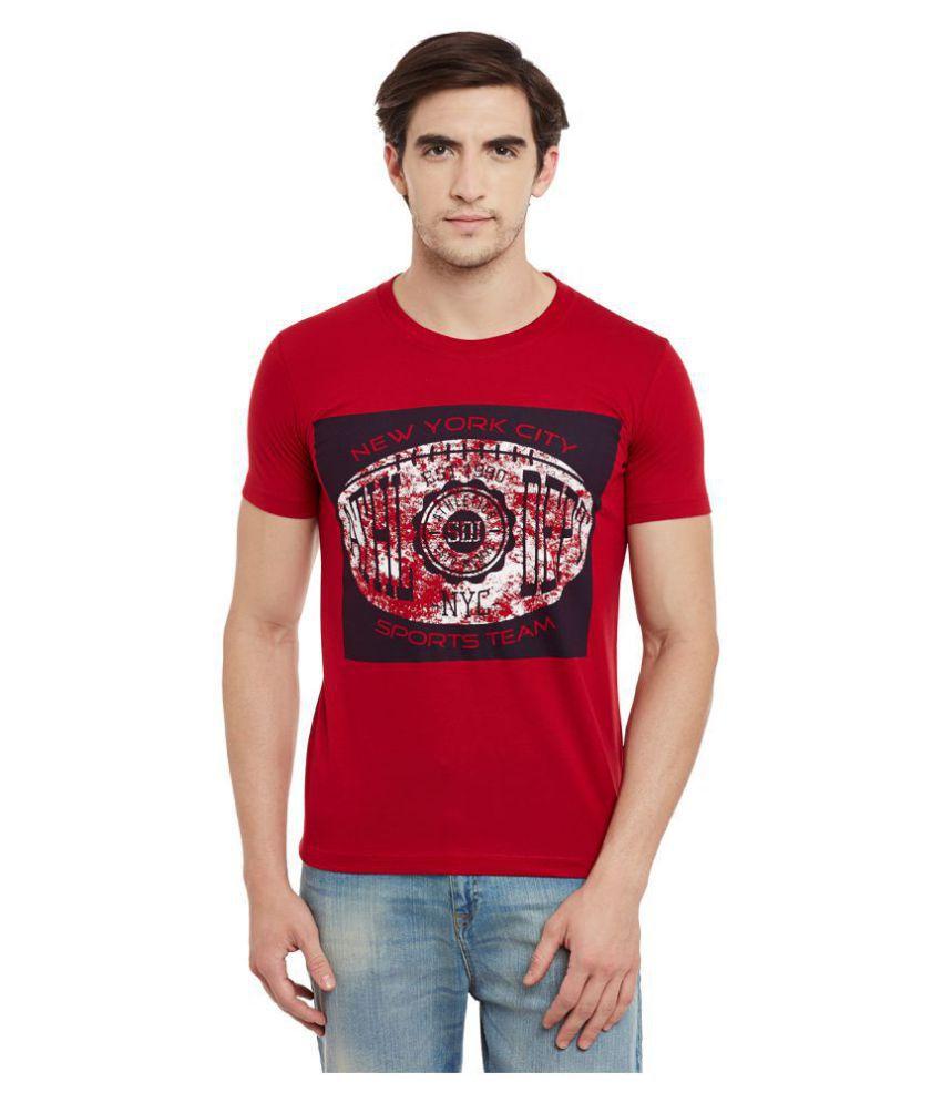 Duke Maroon Round T-Shirt