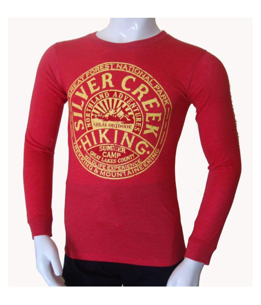 Stable Impex Red Round T-Shirt