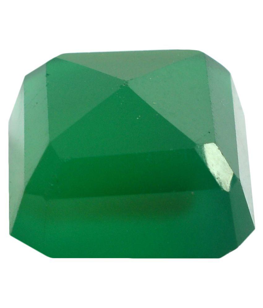 pitliya jewellers 13 -Ratti Self certified Green Onyx Semi-precious Gemstone