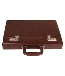 Leather World Brown Medium Briefcase