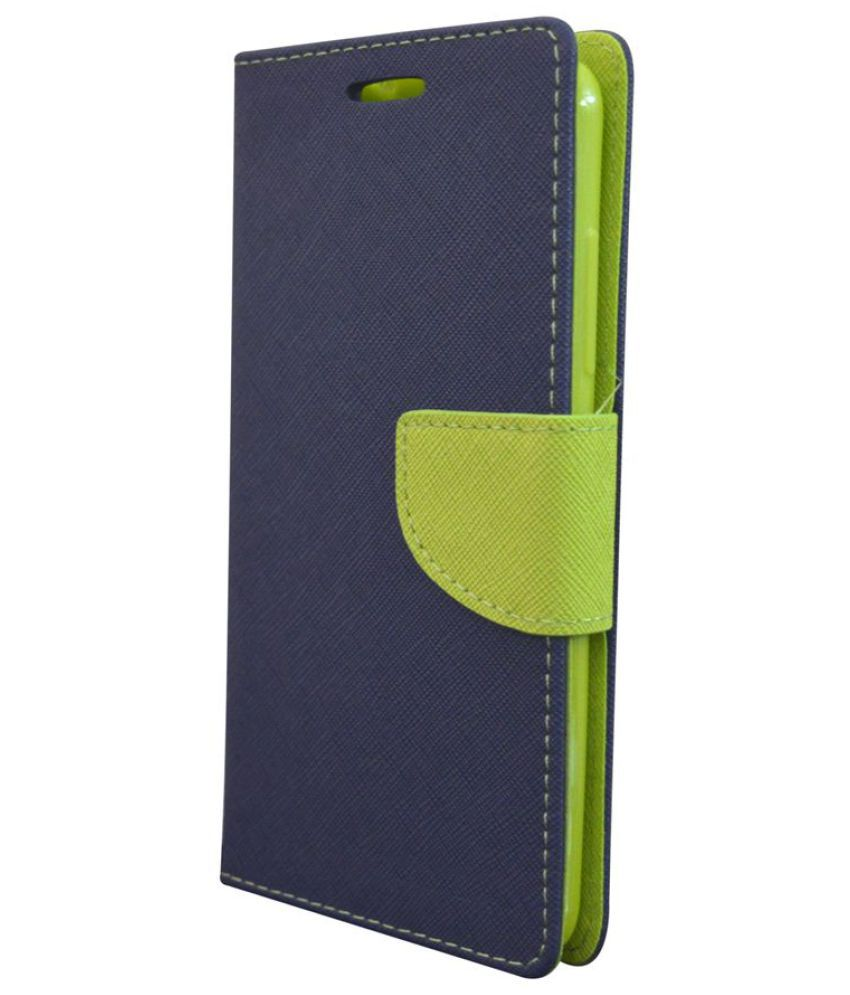 HTC Desire 820 Flip Cover by Coverage - Blue